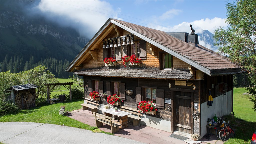 Engelberg featuring a house and tranquil scenes