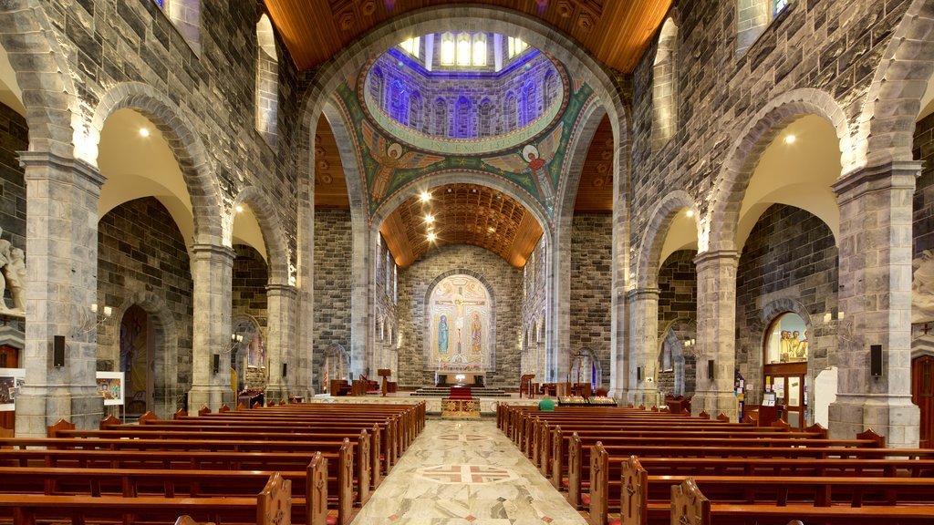 Galway Cathedral which includes religious aspects, a church or cathedral and heritage architecture
