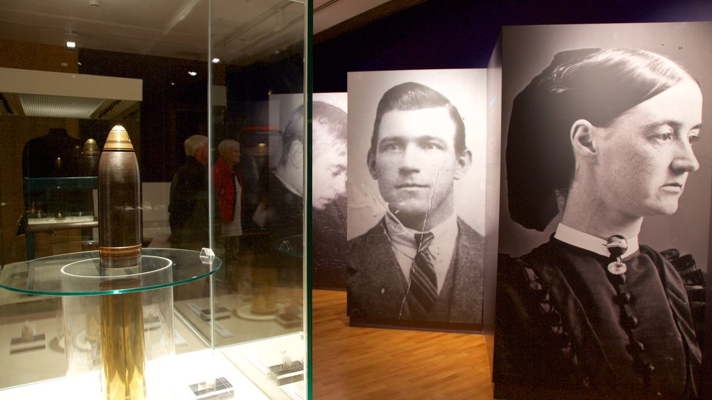 Galway City Museum showing interior views