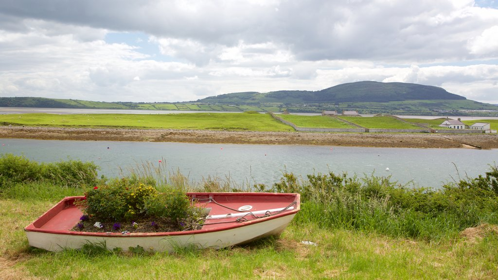 Rosses Point showing landscape views, tranquil scenes and a river or creek
