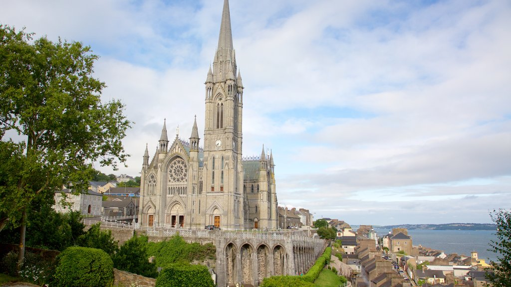 St. Colman\'s Cathedral featuring heritage elements, heritage architecture and religious elements