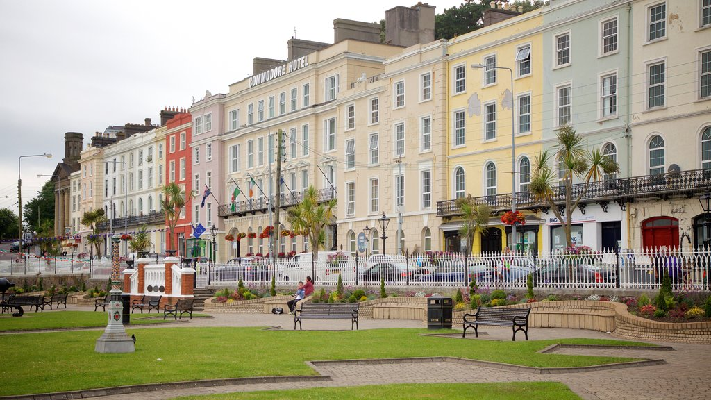 Cobh featuring a park