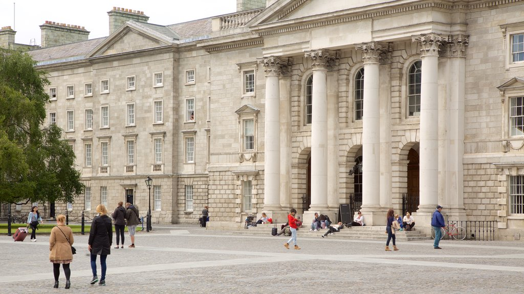 Trinity College which includes heritage architecture, heritage elements and an administrative buidling
