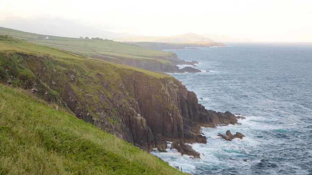 Dingle showing general coastal views, landscape views and rugged coastline