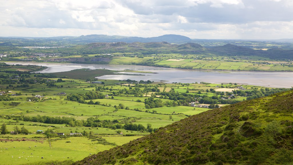 Knocknarea featuring landscape views, a river or creek and tranquil scenes