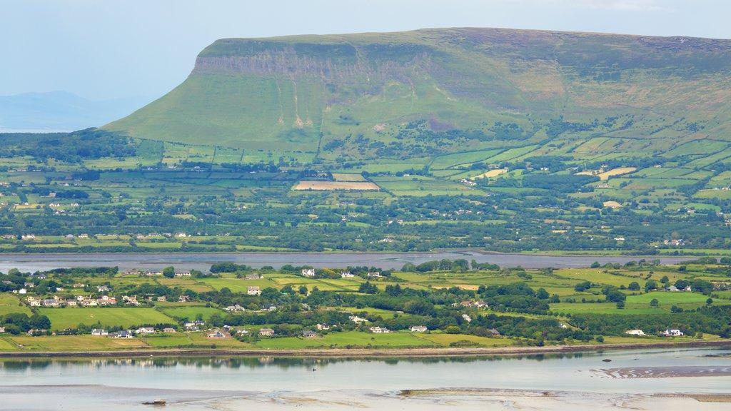 Knocknarea showing tranquil scenes, landscape views and mountains