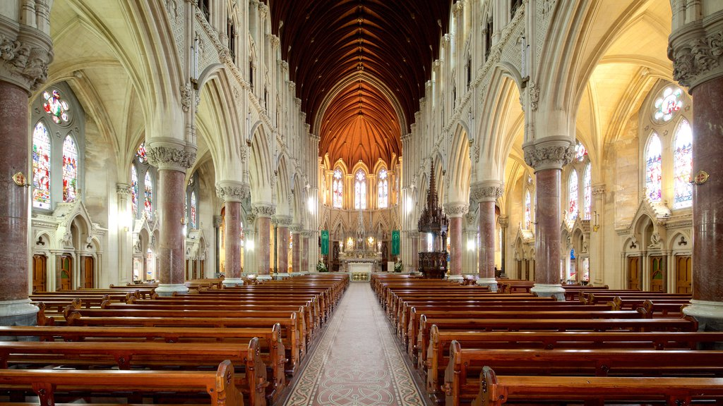 St. Colman\'s Cathedral which includes heritage architecture, interior views and a church or cathedral