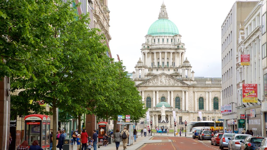 Belfast City Hall featuring a city, heritage architecture and heritage elements