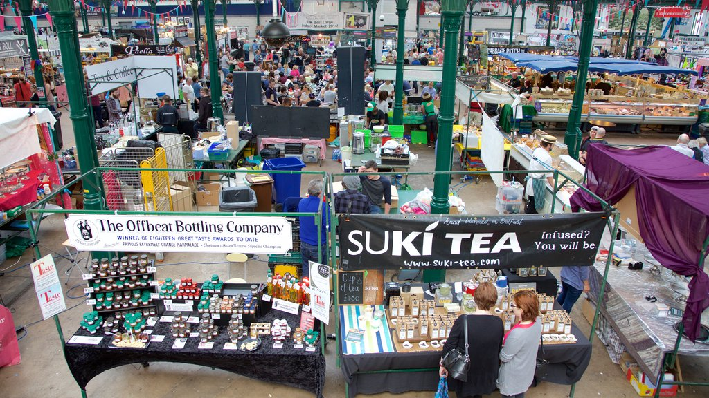 St. George\'s Market which includes interior views, signage and markets