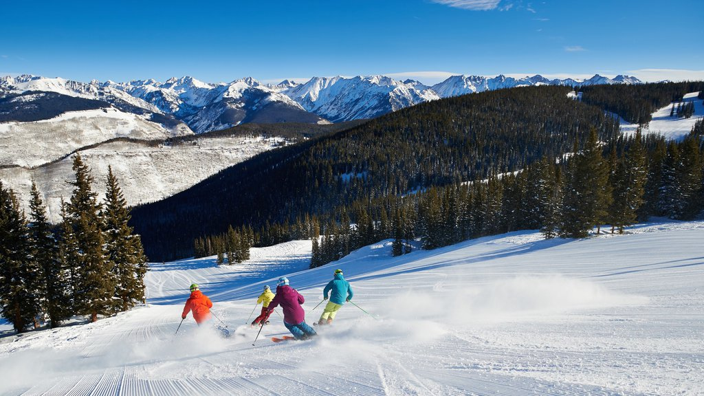 Vail Ski Resort showing landscape views, snow skiing and snow