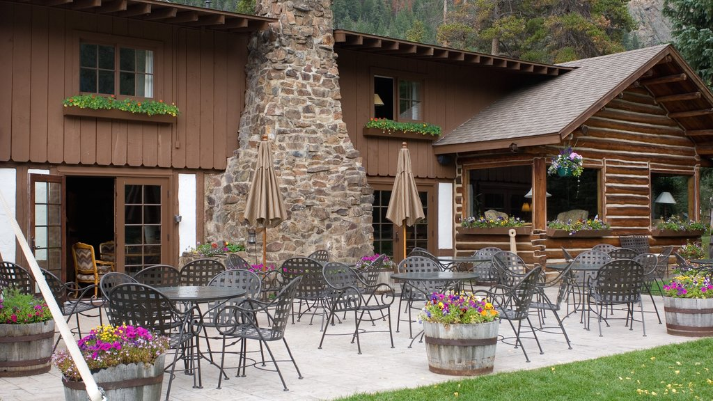 Keystone featuring outdoor eating, cafe lifestyle and flowers