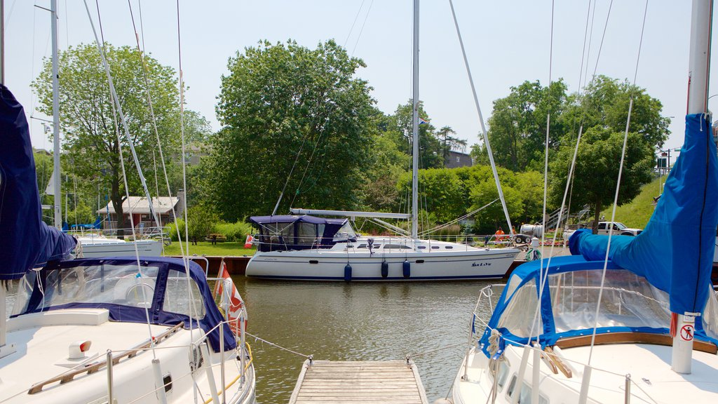 Oakville which includes a river or creek, a marina and boating