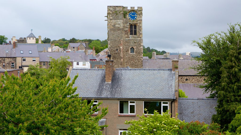 Conwy which includes a small town or village