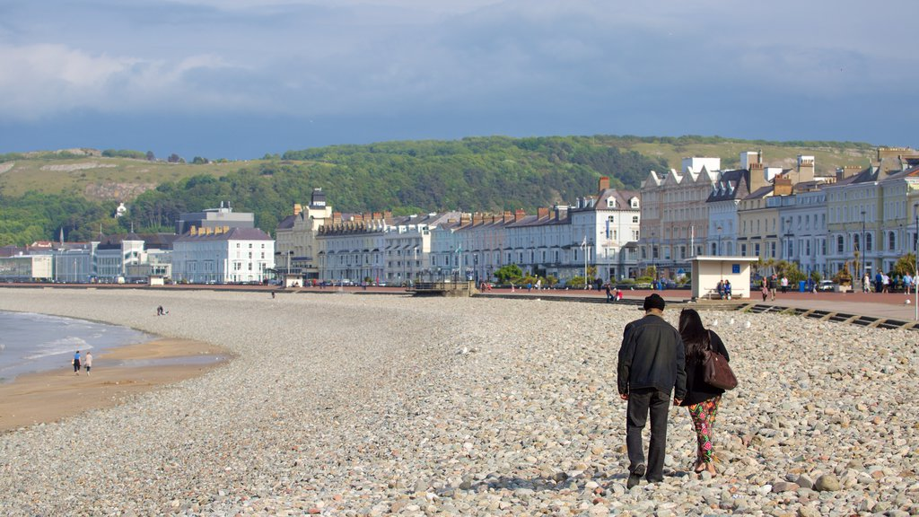 Llandudno which includes a pebble beach as well as a couple