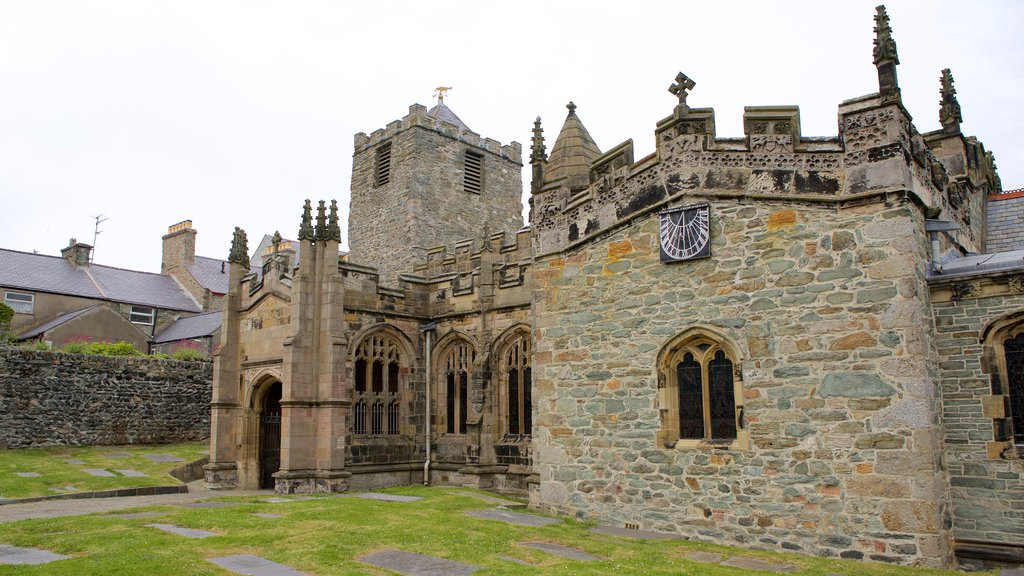 Holyhead featuring heritage architecture, chateau or palace and heritage elements
