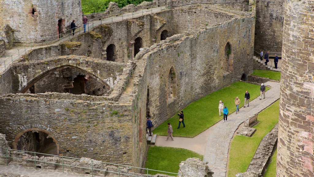 Conwy Castle which includes chateau or palace, heritage elements and a ruin