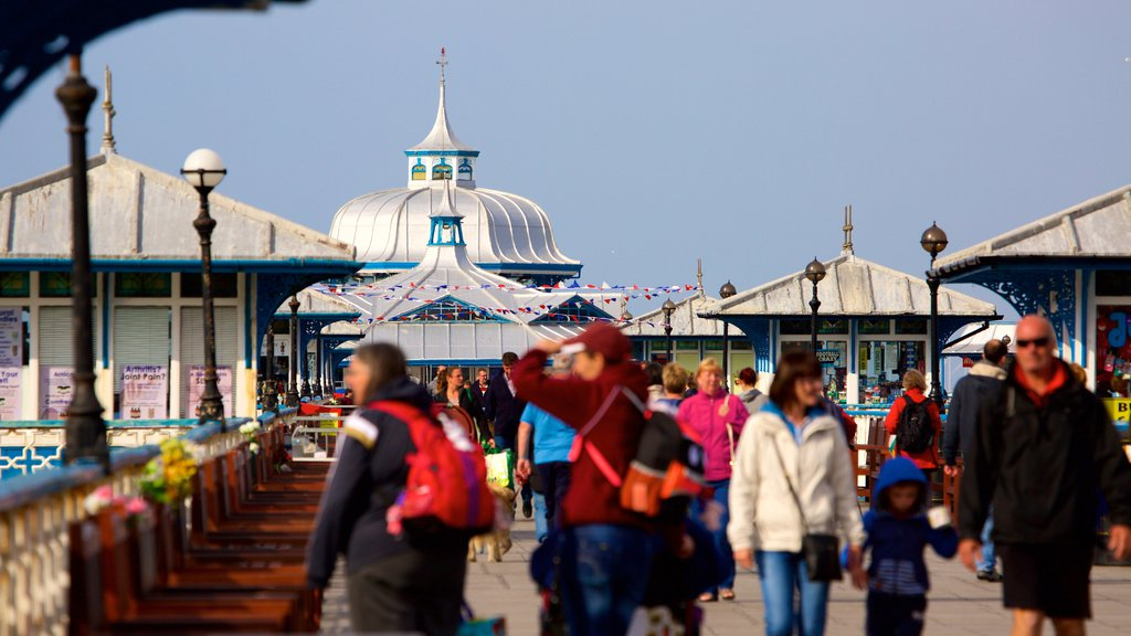 Llandudno Pier as well as a large group of people