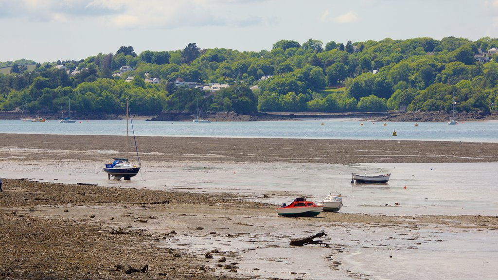 Bangor which includes boating and a sandy beach