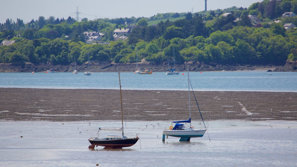 Bangor which includes a beach, sailing and boating