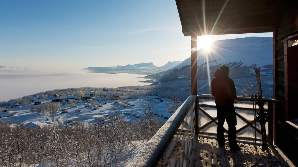 Bjorkliden Fjallby Ski Resort featuring snow and views