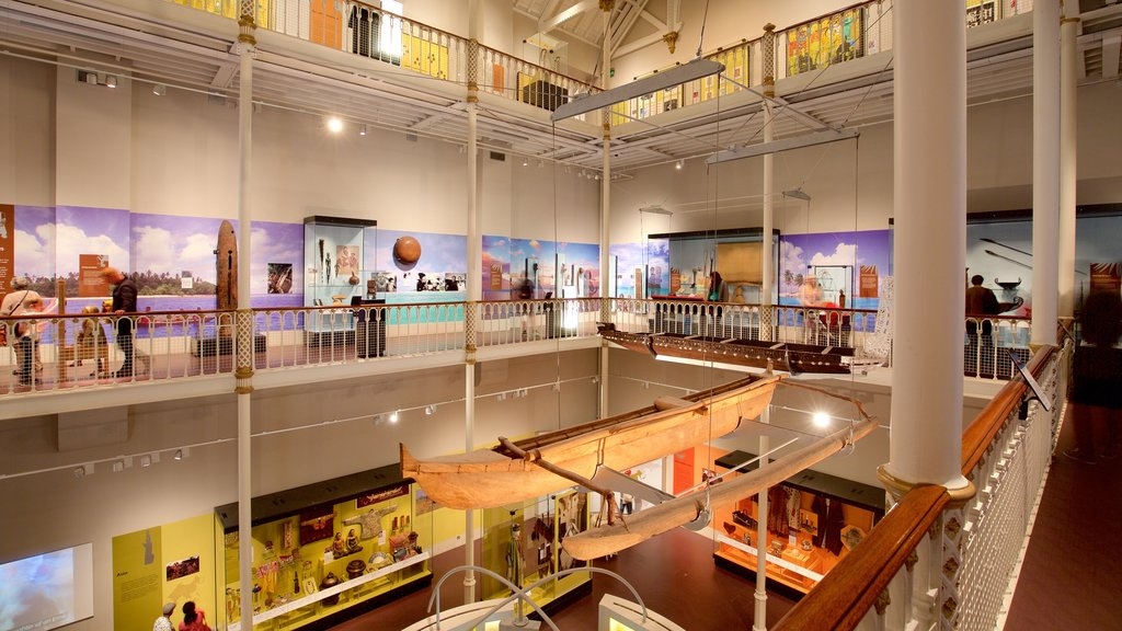 National Museum of Scotland featuring interior views