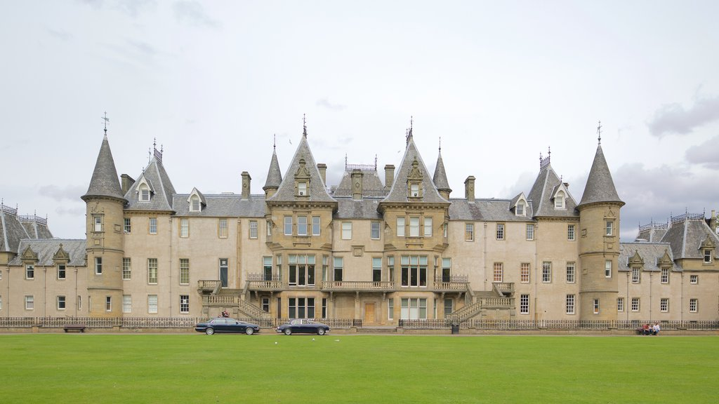 Callendar House which includes heritage elements and chateau or palace