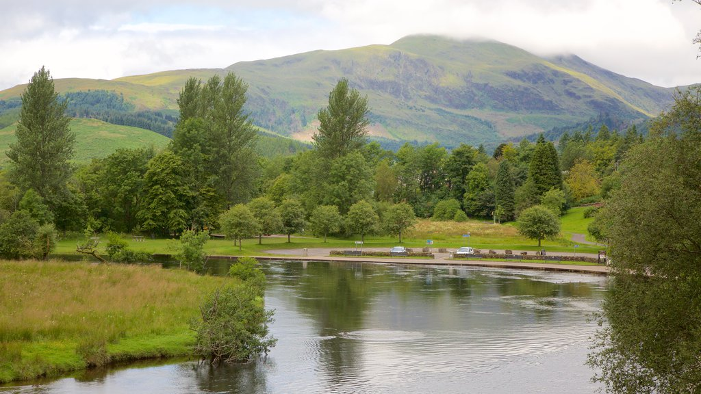 Callander which includes forests and a lake or waterhole