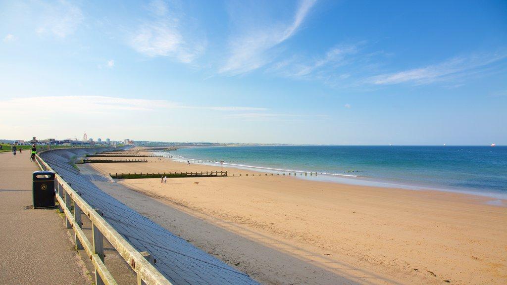 Aberdeen which includes a beach