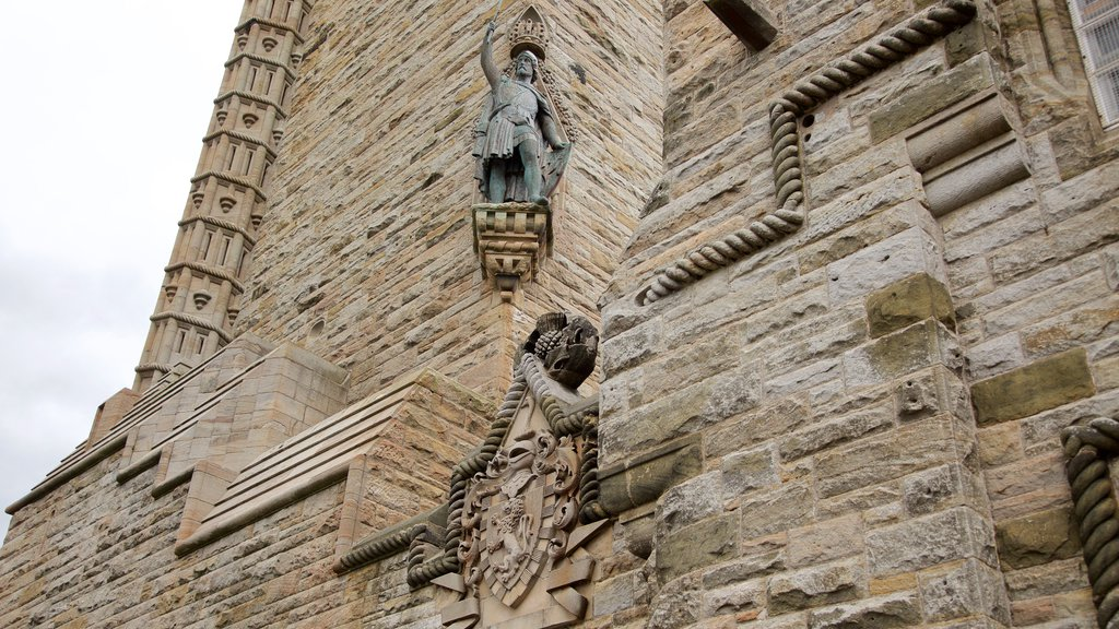 National Wallace Monument showing heritage elements and heritage architecture