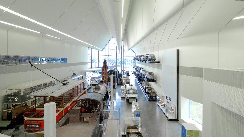 Glasgow showing interior views