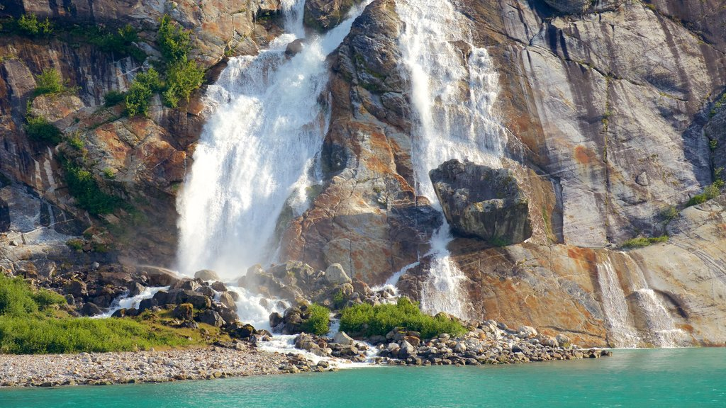 Southeast Alaska - Inside Passage featuring a cascade