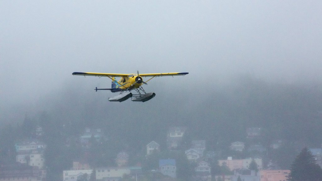 Ketchikan which includes aircraft and an aircraft