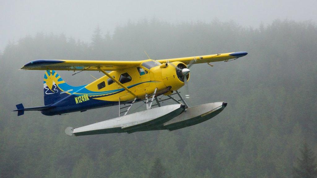 Ketchikan showing an aircraft and aircraft