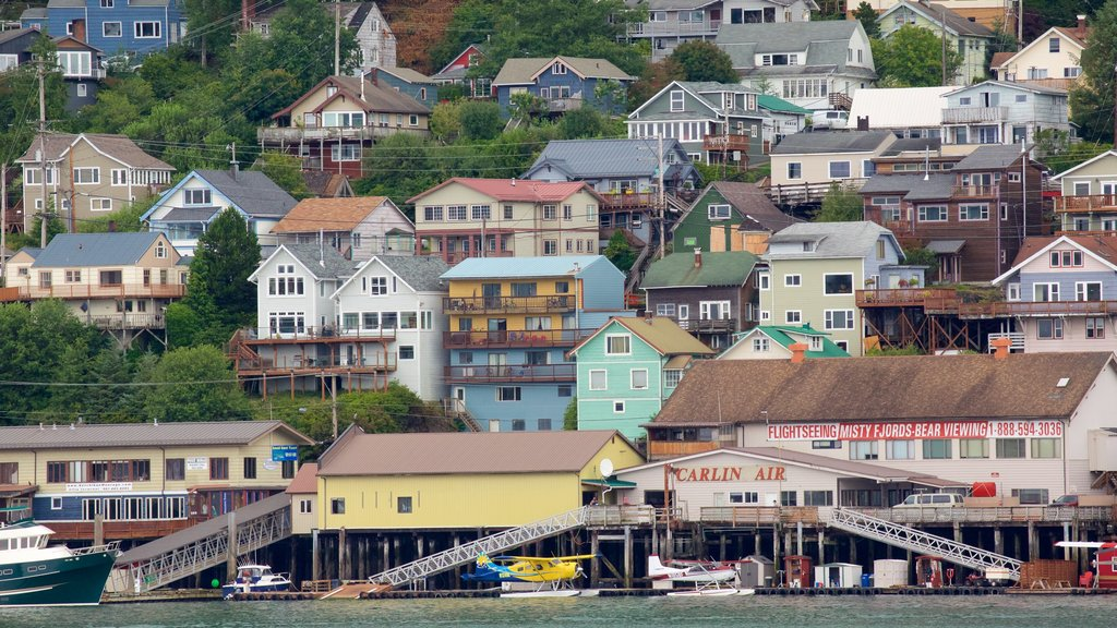 Ketchikan which includes a small town or village