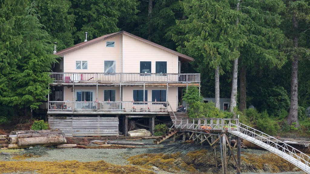 Ketchikan featuring a house