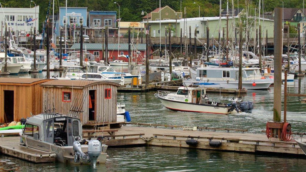 Ketchikan featuring a marina
