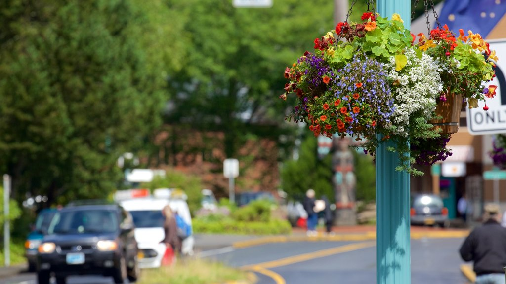 Ketchikan showing flowers