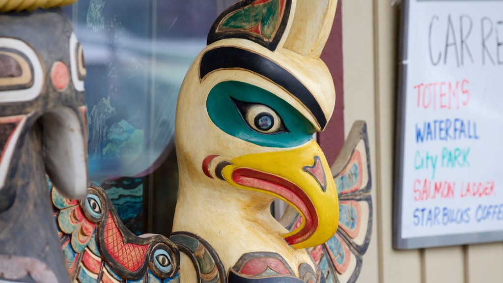 Ketchikan showing outdoor art