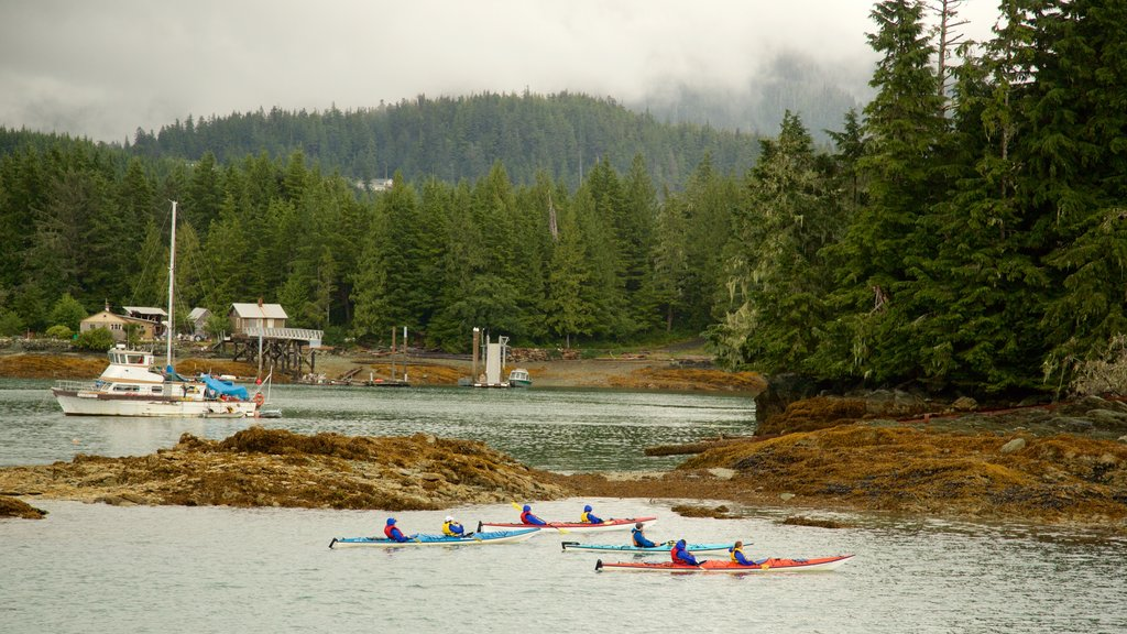 Ketchikan featuring forests and kayaking or canoeing
