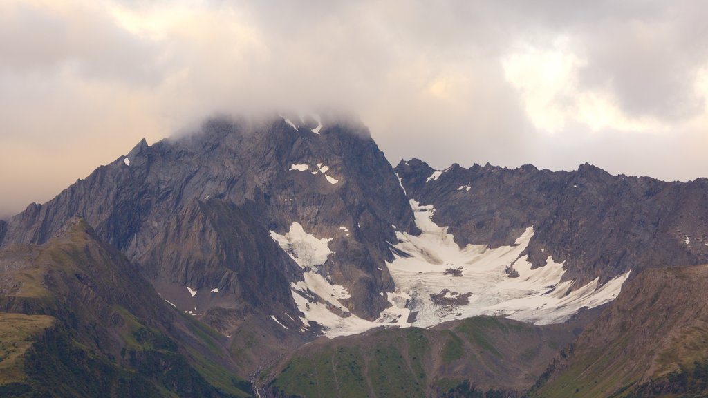 Seward featuring mountains and snow