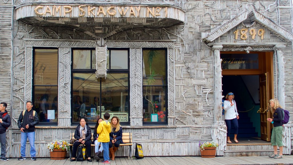 Skagway featuring heritage architecture