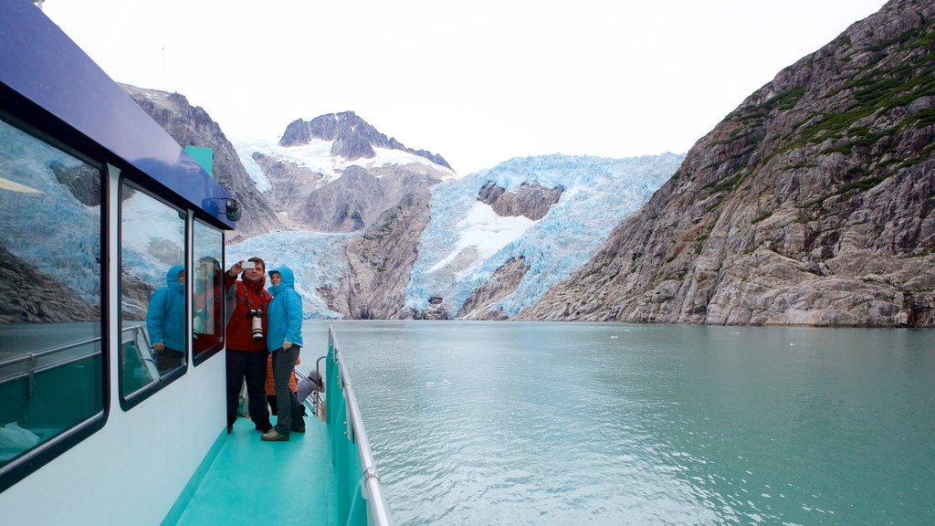 Kenai Fjords National Park featuring general coastal views as well as a couple
