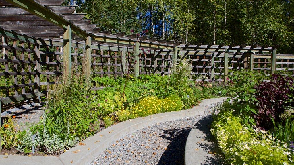 Alaska Botanical Garden which includes a park