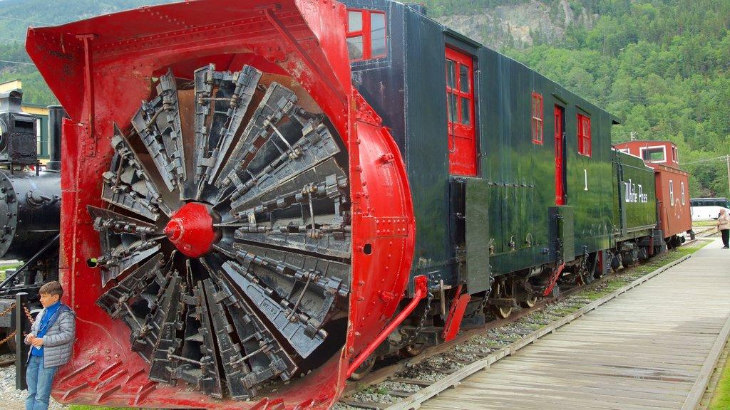 Klondike Gold Rush National Historic Park featuring railway items