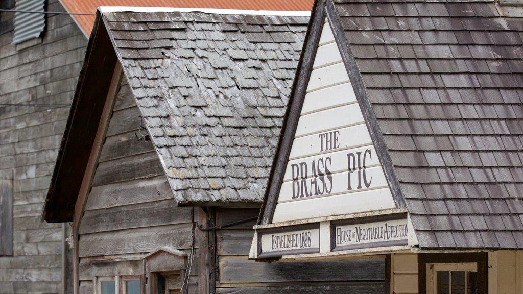 Klondike Gold Rush National Historic Park showing signage