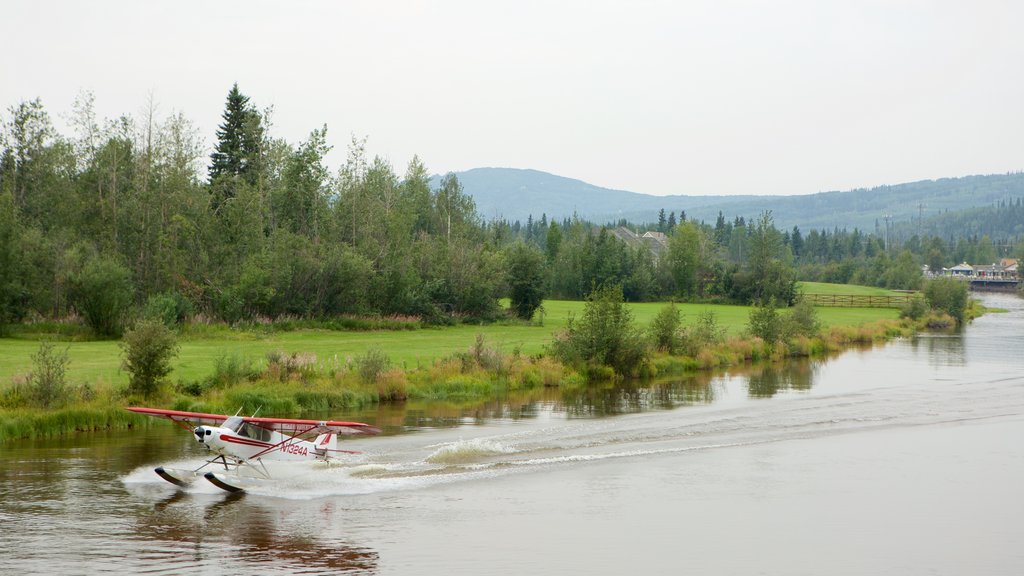 Fairbanks which includes a river or creek and watersports
