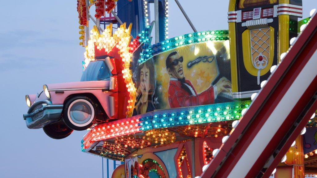 Steel Pier featuring rides