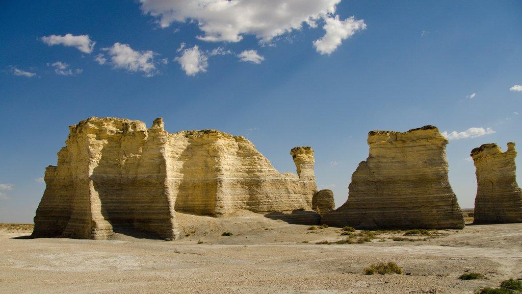Kansas featuring desert views