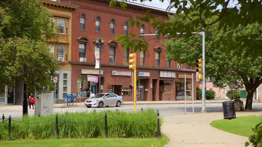 Waltham which includes street scenes