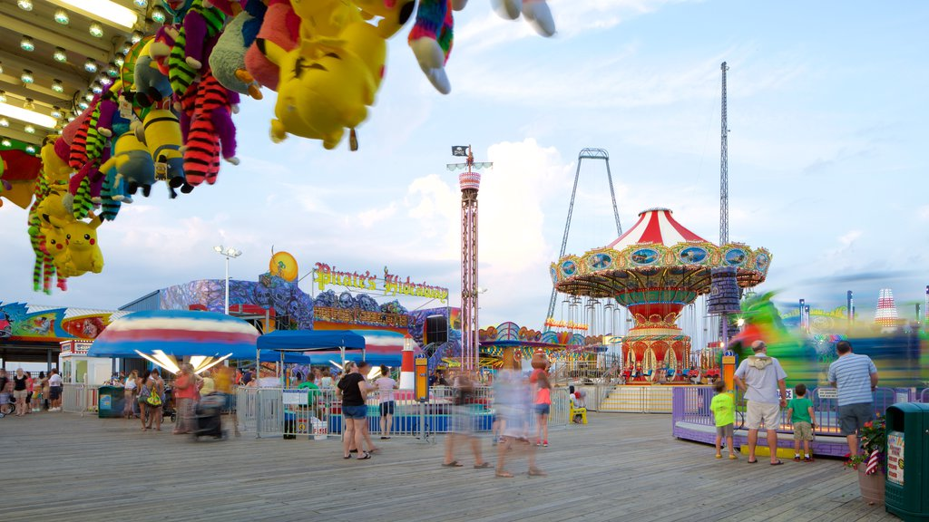 Casino Pier featuring a festival
